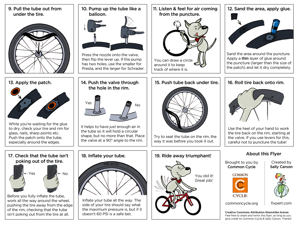 how-to-fix-a-flat-bike-tire